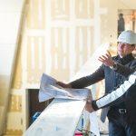 Projectleiders overleggen in de bouw | voorbeeld websitefotografie